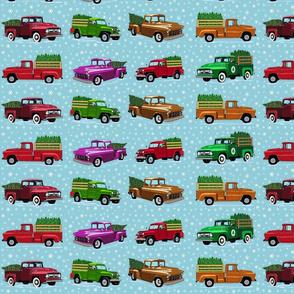 O Christmas truck- light 16 inch