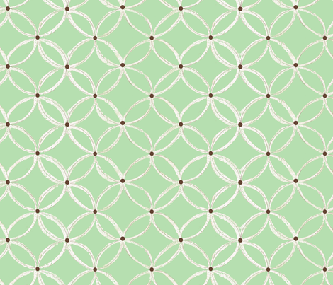 green baby fabric by tilemaker on Spoonflower - custom fabric