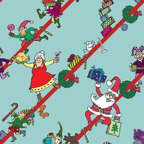 Christmas Sliding Stripe