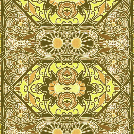 Sunshine at the Old West Saloon fabric by edsel2084 on Spoonflower - custom fabric