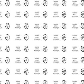 Mothers Love Fabric Label