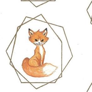 Geometric Fox Blanket