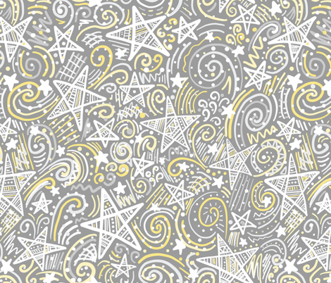 Star Light, Star Bright fabric by robyriker on Spoonflower - custom fabric