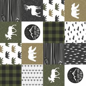 Happy Camper - C2 Colors -  woodland patchwork (90)