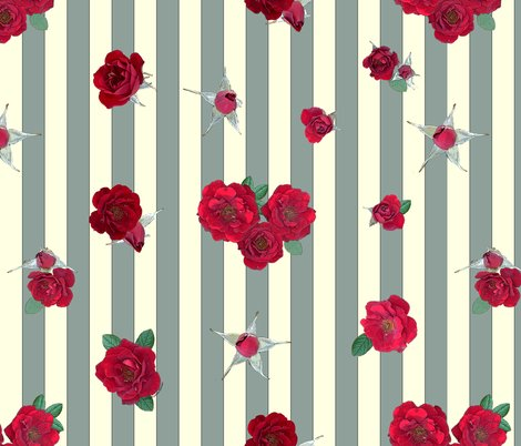 Rred-rosebuds-roses-on-gray-cream-stripes_shop_preview