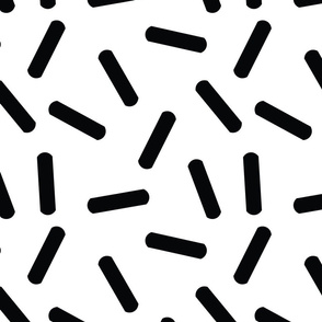 Black Sprinkles