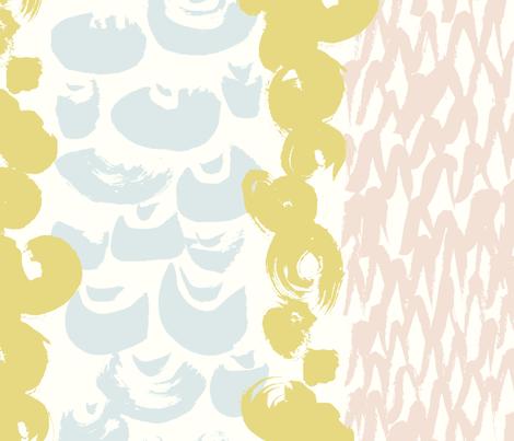 playing with brush fabric by ninanaina on Spoonflower - custom fabric