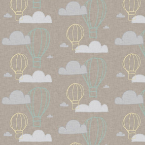 BUNNY AIR BALLOON BEIGE