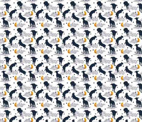 crazy lamb c fabric by she_from_the_valley_designs on Spoonflower - custom fabric