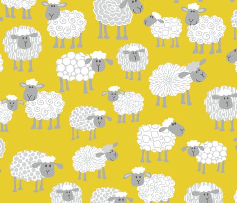Cressida's Sheep fabric by cressida_carr on Spoonflower - custom fabric