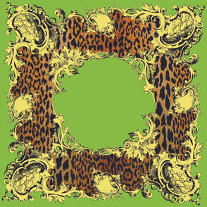 Chartreuse Leopard