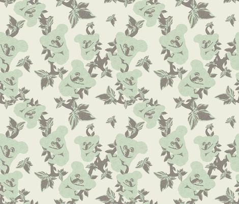 KOOKY KOALAS fabric by bluevelvet on Spoonflower - custom fabric
