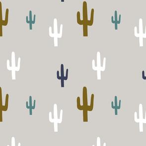 Cactus desert colours modern