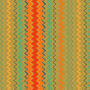 zigzag - peridot
