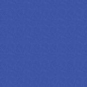 Simple Leaf Wave Pattern - True Blue