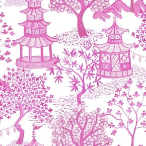 Pagoda Forest in Pinks