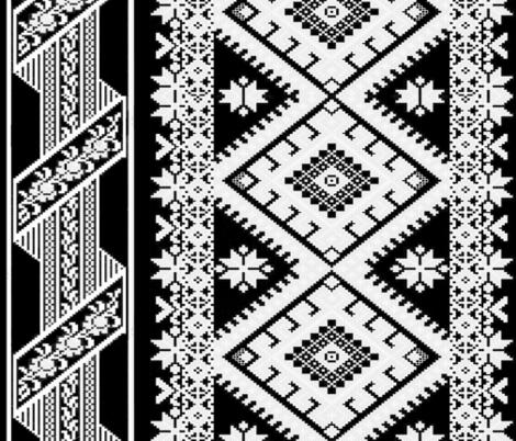 ART DECO LACE fabric by bluevelvet on Spoonflower - custom fabric