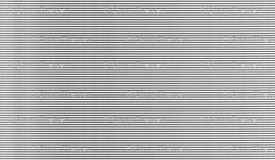 Breton Grunge Stripe Black on White