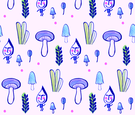 Gnome1 fabric by esteral on Spoonflower - custom fabric