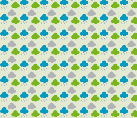 clouds_nuages fabric by alandco on Spoonflower - custom fabric