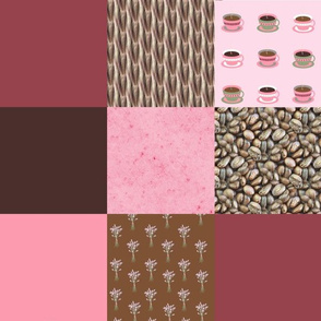 "4"" Wholecloth Patchwork 