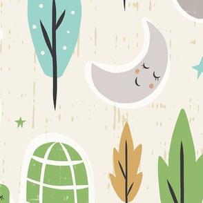 Forest Slumber - Jumbo Scale