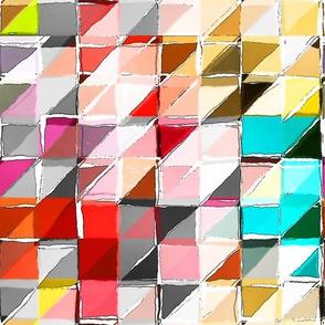 scrappy triangles