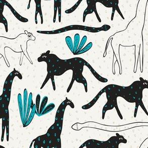 Spotted Safari Animals