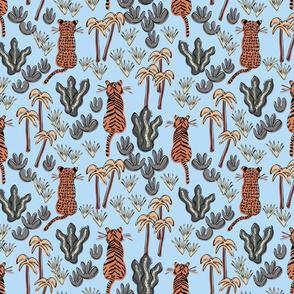 Jungle Cats Sitting - Day