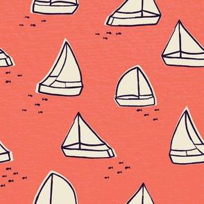 Sailboats and Fish