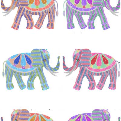 tusk elephants