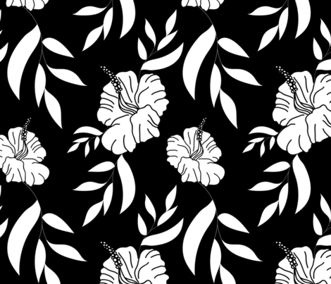 largedadsshirtbw1800repeatsf fabric by margiecampbellsamuels on Spoonflower - custom fabric