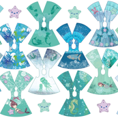 Ocean Collection 14 inch doll dresses