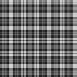 Grey Watch tartan, 6""