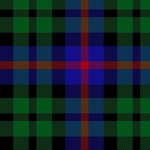 Durham tartan by Wilsons, from 1819, 3""