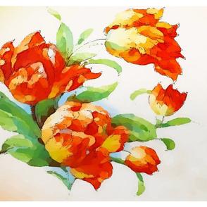 Amana tulip w frame