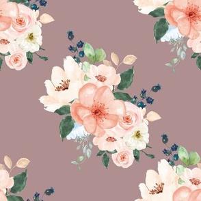 """8"""" Peach Delight Florals // Del Rio"""