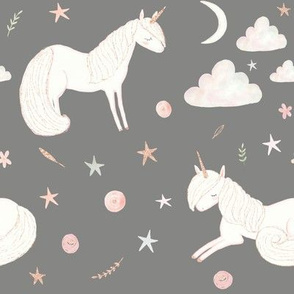 """8"""" Good Night Unicorn // Friar Gray"""