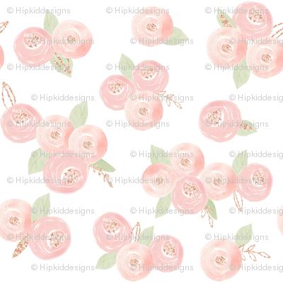 """12"""" Sweet Dream Roses // White"""