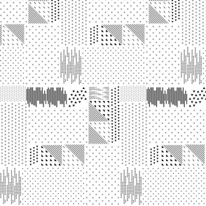 Geometric Chaos Patterns