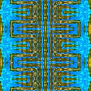 Blue & Bronze Ladder Vibes