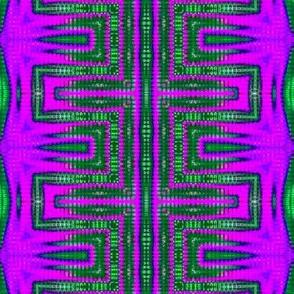 Green & Purple Ladder Vibes