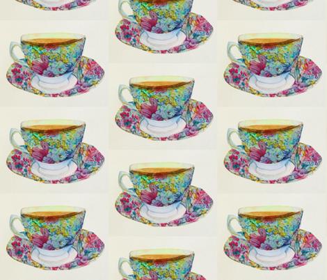 High Tea fabric by rubychilde on Spoonflower - custom fabric