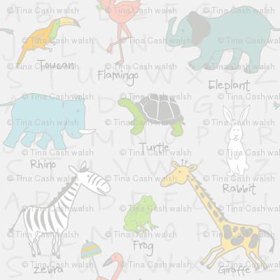 Sweet Zoo Animals Neutral Nursery