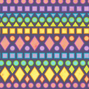 fairish isle dk violet background