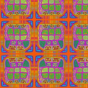 Kuna Indian Abstract
