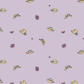 Bonnet Toss on Lavender