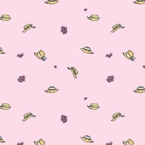 Bonnet Toss on Petal | Pink Morning
