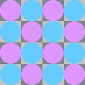 blocks - orchid and turquoise