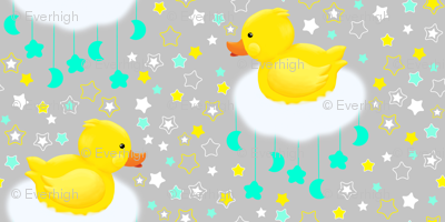 Duckies in the clouds